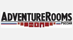 Логотип Adventure Rooms - огранизатора квестов в реальности, живых квестов - вырбраться из комнаты в городе Москва