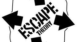 Логотип Теория Побега - огранизатора квестов в реальности, живых квестов - вырбраться из комнаты в городе Москва