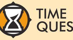 Логотип TIME QUEST - огранизатора квестов в реальности, живых квестов - вырбраться из комнаты в городе Москва