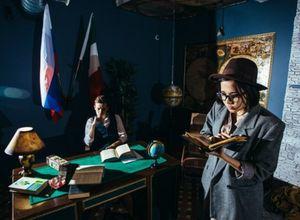 Квест Комната путешественника Rabbit Hole Санкт-Петербург