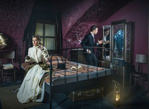 Квест Дом призраков Клаустрофобия Москва