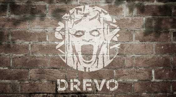 Логотип DREVO QUEST - огранизатора квестов в реальности, живых квестов - вырбраться из комнаты в городе Москва