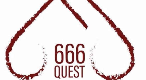 Логотип Quest666 - огранизатора квестов в реальности, живых квестов - вырбраться из комнаты в городе Москва