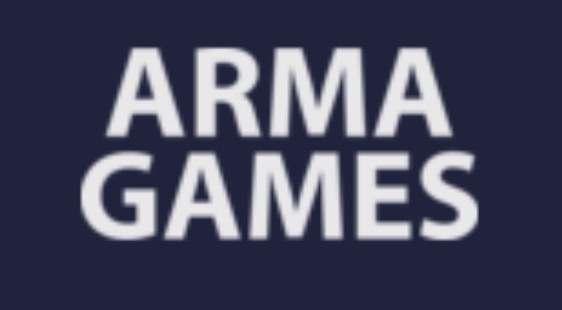 Логотип ARMAGAMES - огранизатора квестов в реальности, живых квестов - вырбраться из комнаты в городе Москва