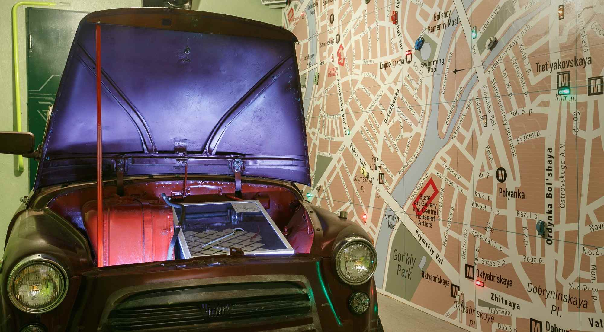 Квест в реальности Автосервис Roomquest Москва