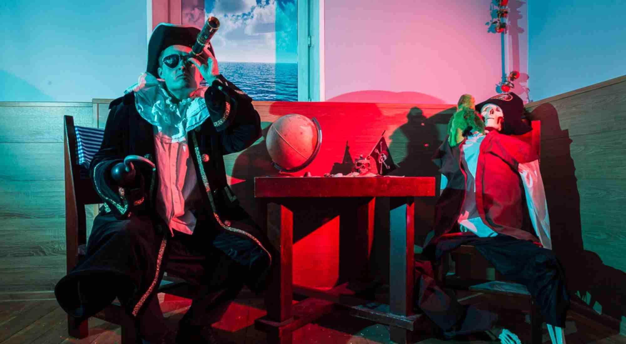 Квест в реальности Пираты Карибского моря Funlock Москва