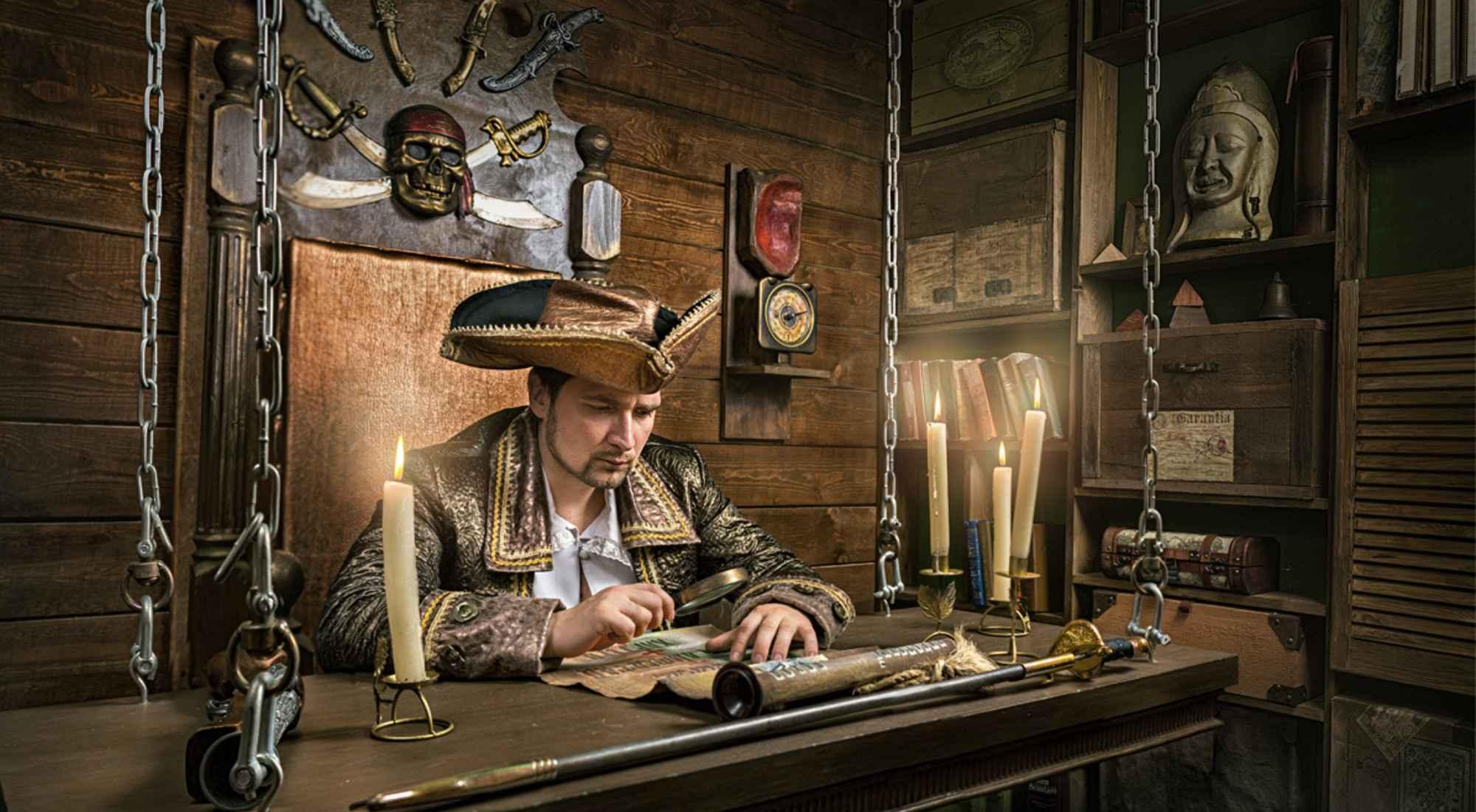Фото квеста Пираты Карибского моря Москва LOST