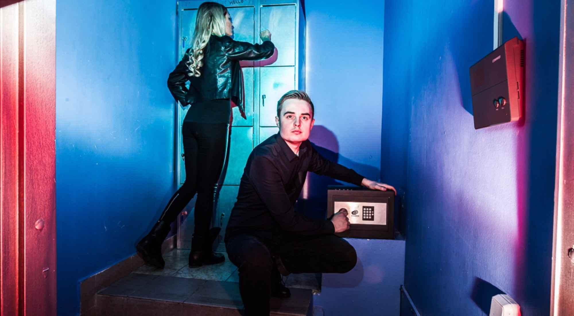 Квест в реальности Хранилище Funlock Москва