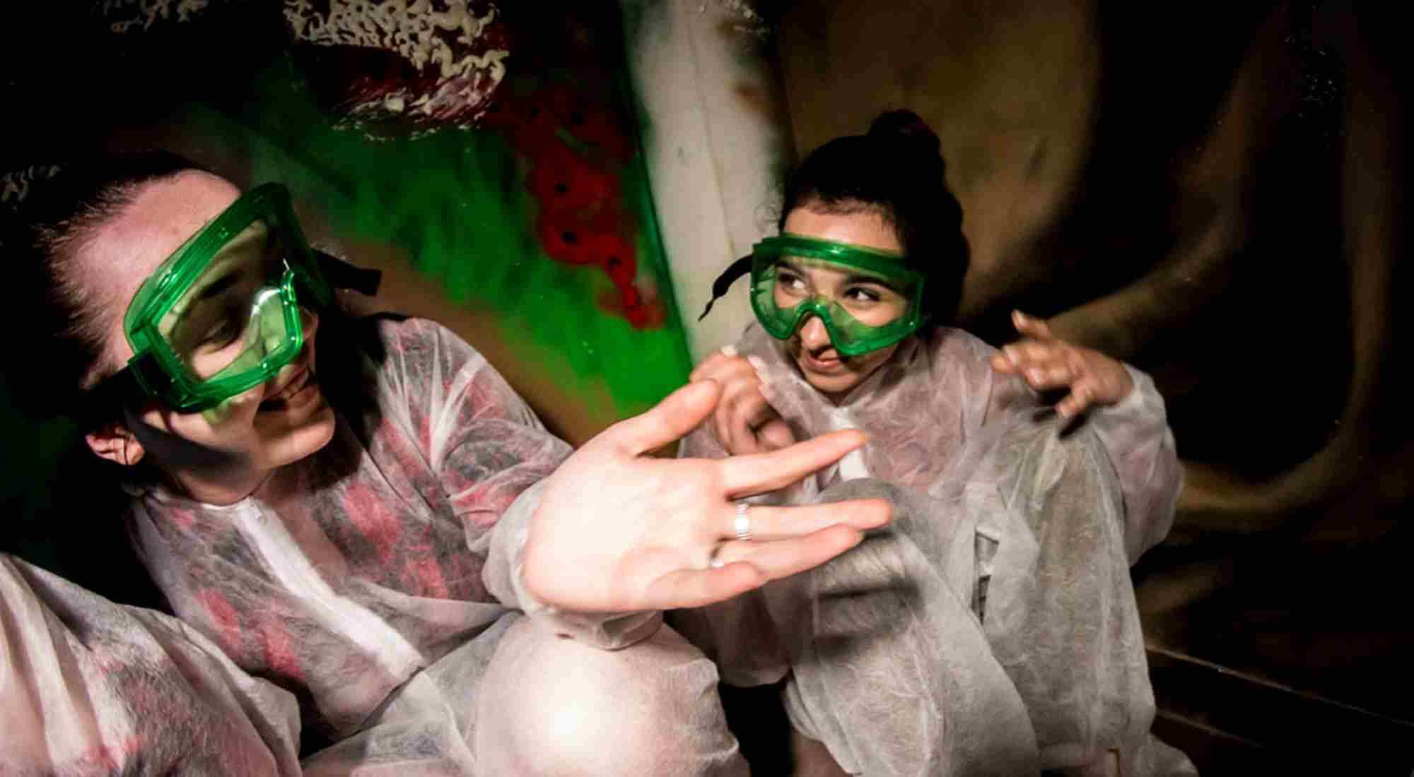 Фото квеста Самые страшные прятки в темноте Москва Get.Event