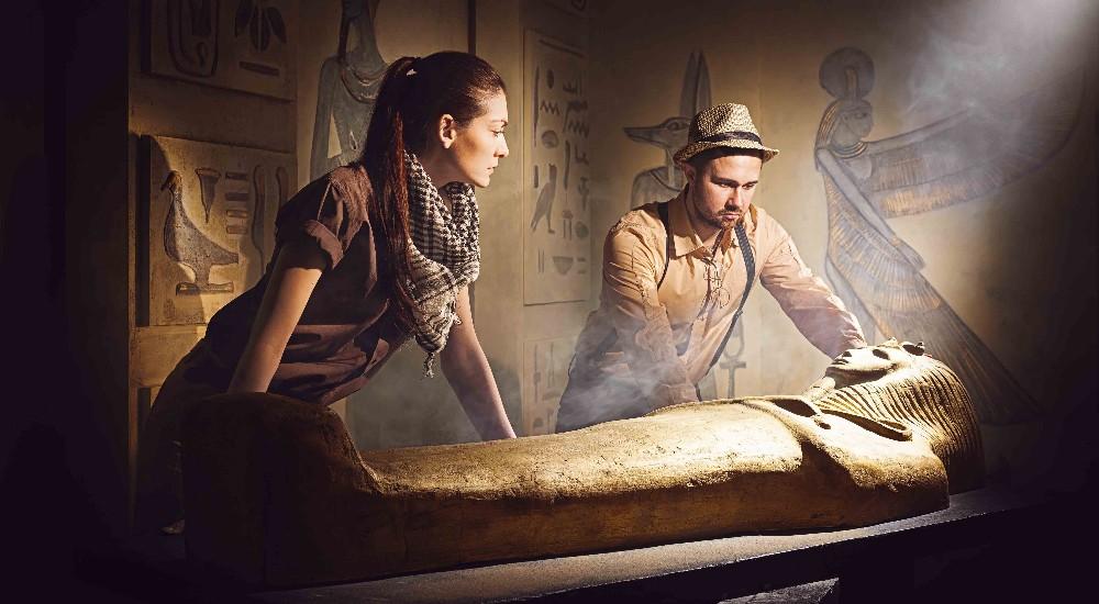 Фото квеста Земля фараонов Москва Улица Квестов