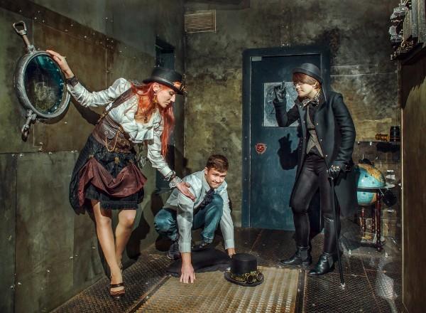 Квест Наутилус капитана Немо Ловушка Санкт-Петербург