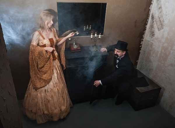 Квест Особняк с привидениями World Of Quests Москва