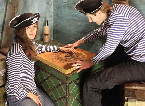 Квест Пиратский квест На корабле Санкт-Петербург