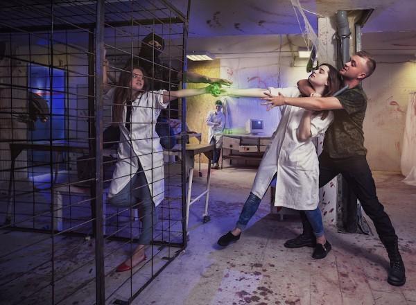 Квест Эксперимент Шокотерапия Москва
