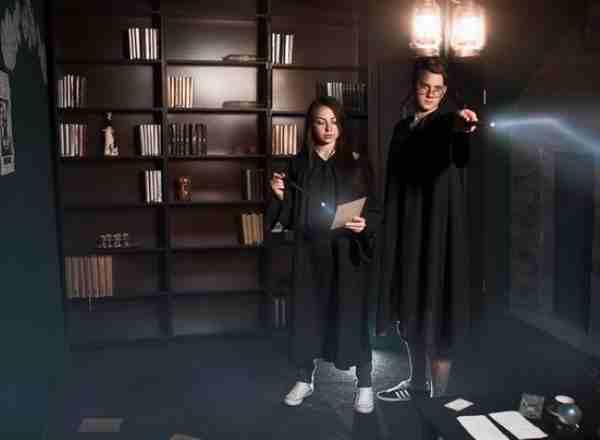 Квест в реальности Гарри Поттер. Подземелье Слизерина КиноКвест Москва